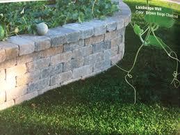 Gregg And Ellis Landscape Design Calstone Roman Stone Retaining Wall Stone Retaining Wall