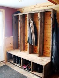 Coat And Shoe Racks Magnificent The Incredible Shoe Bench With Coat Rack For Present House