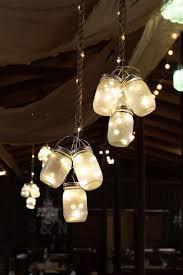 barn wedding lights. How To Make Hanging Mason Jar Lights, DIY Decor And Wedding Craft Ideas. Barn Lights