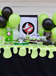 ghostbusters party ideas so many fun food decoration and party favor ideas for