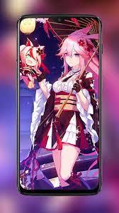 Yae Sakura Anime Girl Live Wallpapers ...