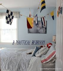 Nautical Bedroom A Nautical Bedroom Finding Silver Pennies