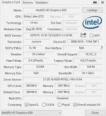 intel hd 620 review graphics of 7th gen intel core u cpus