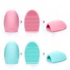 details about cleaning glove makeup washing brush scrubber board cosmetic clean tool trendy