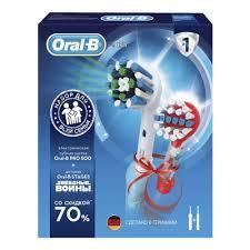 <b>Набор</b> электрических зубных щеток Oral-B PRO 500 и Oral-B ...