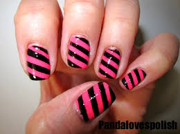 popular easy designs to paint on nails