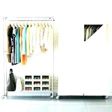 free standing clothes rack. Self Standing Closet Free Clothes Rack Wardrobe C