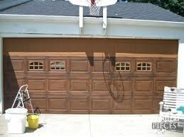 faux wood garage doors. Faux Wood Garage Doors Door Tutorial By Prodigal Pieces