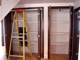 Backyards : How Install Fold Closet Door Doors Over Laminate ...