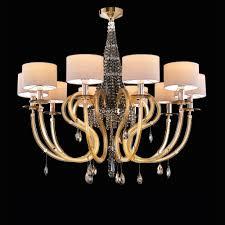 luxury modern bronze swarovski crystal chandelier