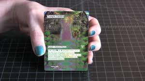 mtg foil altered art temple garden 2 spellscoop