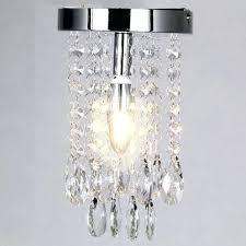 small flush mount crystal chandelier crystal ball