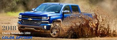 2019 Chevy Silverado Color Chart What Are The Color Options For The 2018 Chevy Silverado 1500