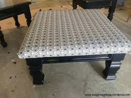 coffee table to ottoman table to ottoman and how to paint furniture without sanding in marvellous coffee table to ottoman