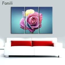 red rose wall decor red rose wall art red rose canvas painting 3 piece wall art red rose wall decor