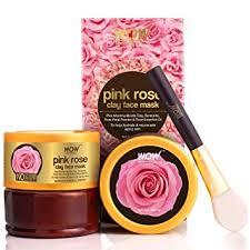 Buy WOW Skin Science <b>Pink Rose</b> Clay Face Mask No Parabens ...