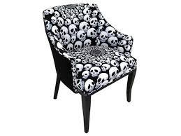 gloss dining set lorga x skull pattern chair  skull pattern chair