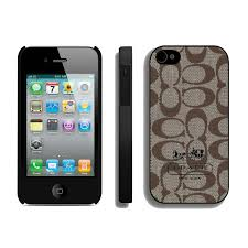 Stylish Coach In Signature Beige Iphone 4 4S Cases Ain Online 7HtSm