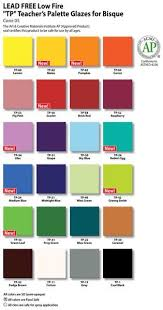 Astm Color Chart Tp 58 Brick Red 8 Oz Clay Creations In 2019 Amaco