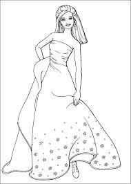 Pretty Barbie Coloring Pages Free Printable Coloring Pages For Kids