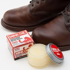 jewel mink oil sports use made by leather boots leather shoes leathercraft hides