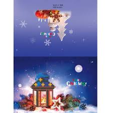 Best Christmas Lights In Mississippi Amazon Com Oldeagle 8 Set Christmas Cartoon Greeting Card