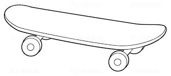 skateboarding coloring pages shared by on dog page skateboard tech deck