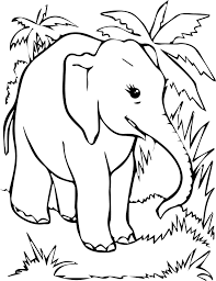 free elephant coloring pages free coloring page elephant