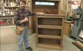 new yankee workshop. the new yankee workshop season 13 episode - barrister bookcase