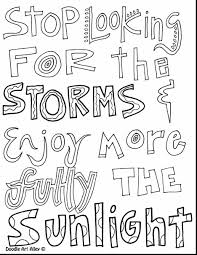 Nice Quote Coloring Pages Pdf Top Serenity Page For 6098 Unknown 21119