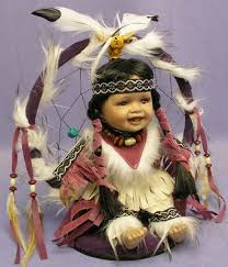 Dream Catcher Dolls Ashton Drake Pocahontas Princess Baby Girl Native American Indian 8