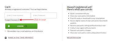 mercury insurance password