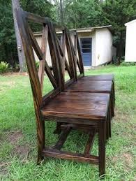 handmade dining chairs with x back handmade furniture amzn to 2iwpdj4