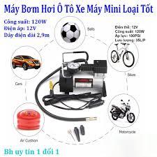 Máy rửa xe mini 12v Bơm mini giá rẻ Ap suat lop oto - Bơm hơi Ô tô xe máy  chuyên dụng nén khí - bơm nén khí cực ổn định -