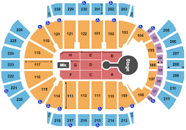 Sports Arena Seating Chart