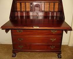antique drop front secretary desk elegant drop front secretary