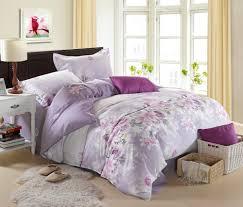 purple flower bed sheets  bedding sets