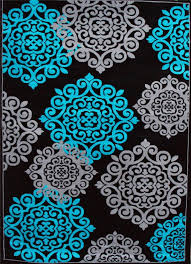 turquoise and grey area rugs roselawnlutheran inside teal and black area rug ideas