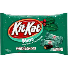 mint chocolate candy brands. Brilliant Mint Kit Kat Holiday Miniatures Mint Dark Chocolate Candy Bars In Brands C