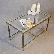 coffee table art deco br gl antiques atlas top