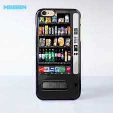 Cell Phone Vending Machine Delectable Vintage Snack Vending Machine Cell Phone Protective Case For IPhone