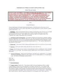 Supply Contract Templates Template Exercise Contract Template 13