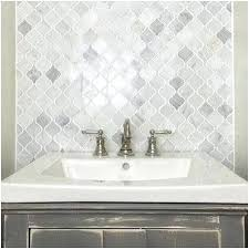 Backsplash Bathroom Ideas Gorgeous Marble Backsplash Bathroom Mosaic Tile Bathroom A Best Of Best