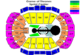 La Live Seating Chart Cancelled Game Of Thrones Live Concert Experience Sprint