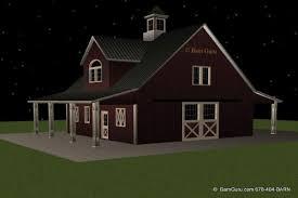 barn living quarters plans loft