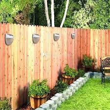 solar fence lights solar fence lights best solar wall lights for garden classic outdoor wall security