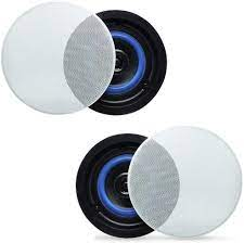 Amazon Com Herdio 4 Hcs418 160 Watts 2 Way Flush Mount In Ceiling In Wall Speakers Perfect For Bathroom Kitchen Living Room Office A Pair Home Audio Theater