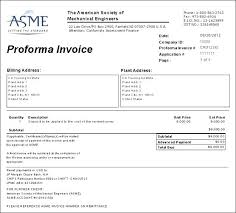 proforma invoice for advance payment proforma invoice format for advance payment sample export invoice