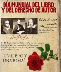 Resultado de imagen de dia mundial del libro y del derecho del autor