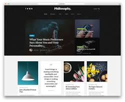 Bootstrap Website 32 Best Free Bootstrap Blog Templates 2019 Colorlib